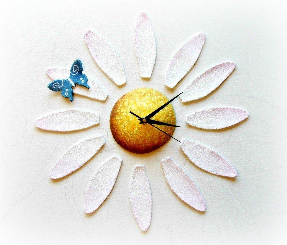 orologio da parete margherita