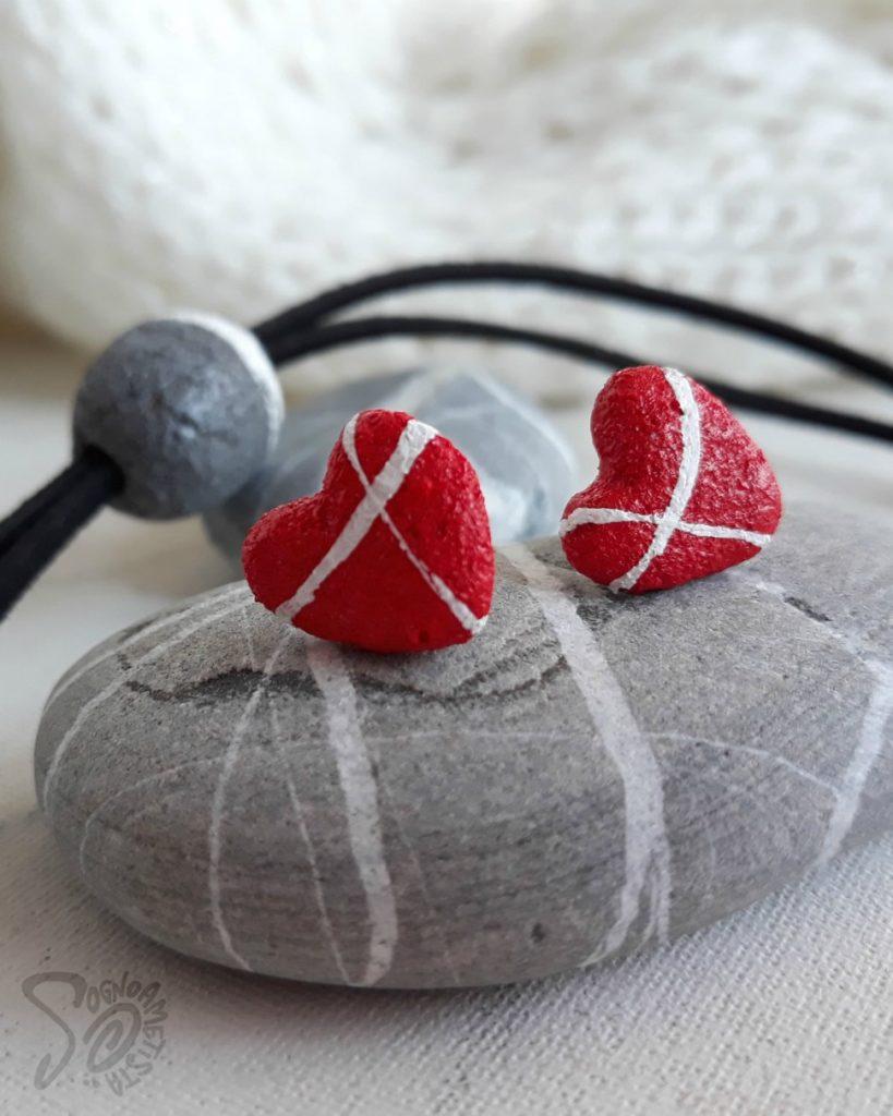idea regalo mamma orecchini cuore